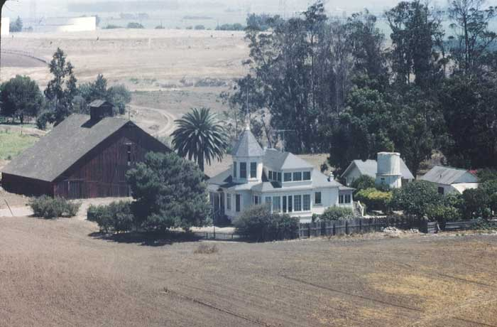 Newland House Huntington Beach Wedding Part - 16: The Newland House As It Looked In 1948